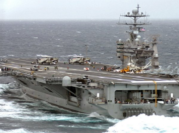 СШАотправляют ударную группу вСредиземное море