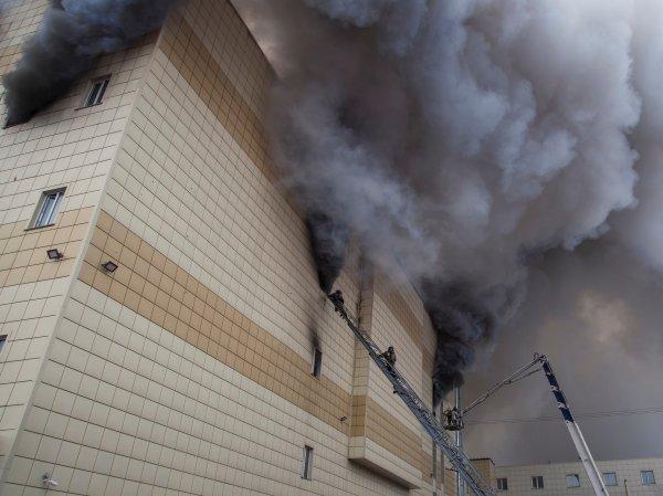 """СКР: прокуратура запрещала проверки пожарной безопасности в """"Зимней вишне"""""""