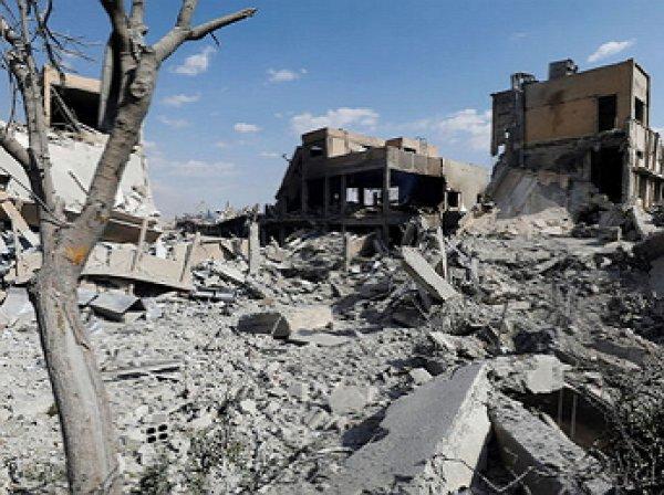 Россия обнаружила склад и лабараторию химического оружия в сирийской Думе