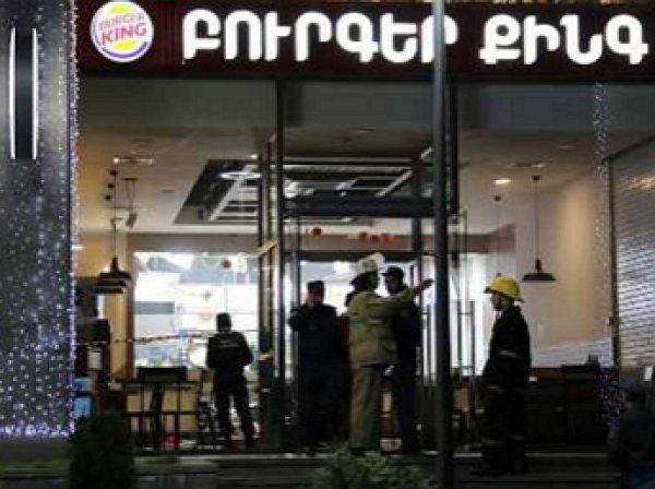 """В """"Бургер-Кинг"""" в Ереване прогремел взрыв, есть пострадавшие"""