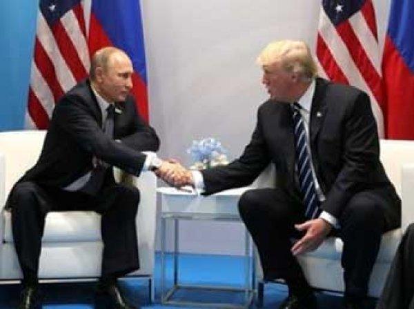Ушаков: Трамп предложил Путину встречу в Вашингтоне