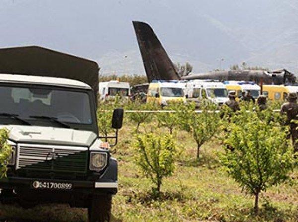Число жертв крушения Ил-76 в Алжире выросло до 257 человек