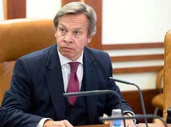 """""""Ни Меркель, ни Волкер не помогут"""": Пушков ответил Порошенко на заявление, что он """"дожал"""" Путина"""