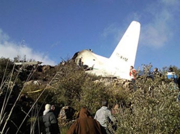 Крушение Ил-76 в Алжире: жертвами катастрофы могут стать 200 военных