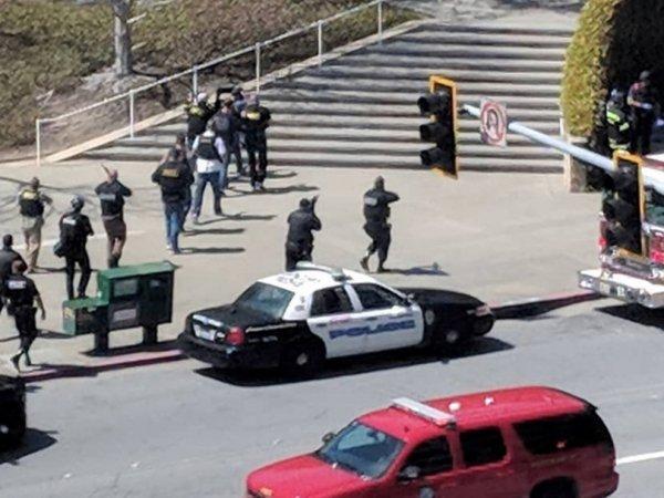 Стрельба в штаб-квартире YouTube в США: до 40 пострадавших (ВИДЕО)