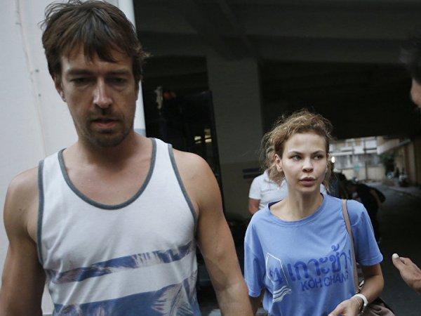 Настя Рыбка и Алекс Лесли арестованы судом Паттайи