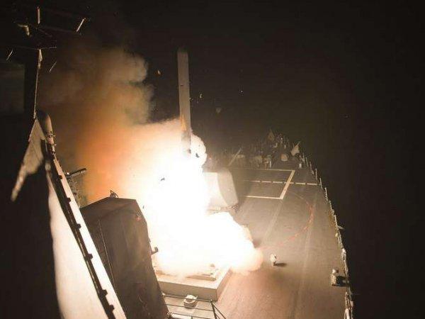 "Сирия: атака ""Буками"" ""умных"" ракет Трампа попала на видео"