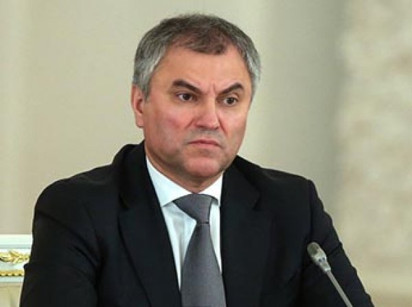 Володин предложил ввести уголовную ответственность за соблюдение санкций против РФ