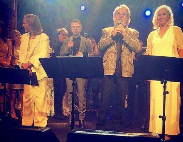 Квартет ABBA записал две новые песни впервые за 35 лет
