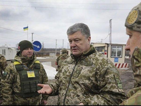 Порошенко поменял формат операции ВСУ на Донбассе