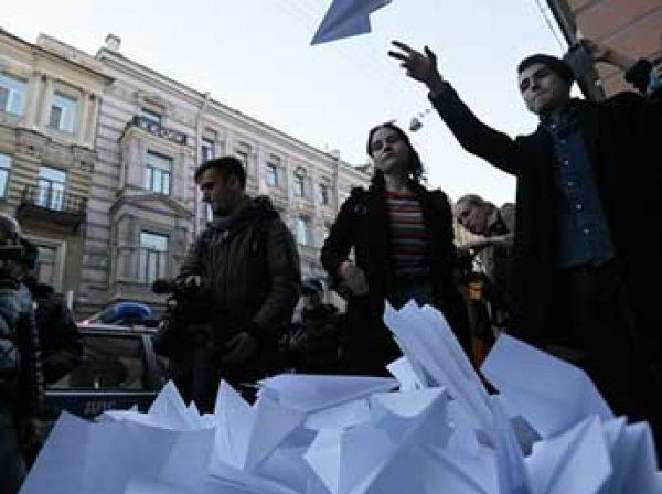 Мария Алехина из Pussy Riot задержана на акции против блокировки Telegram