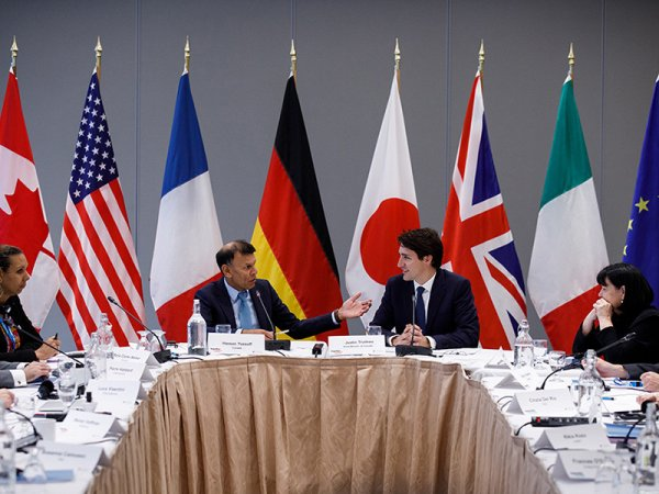 Страны G7 заявили о готовности ужесточить антироссийские санкции