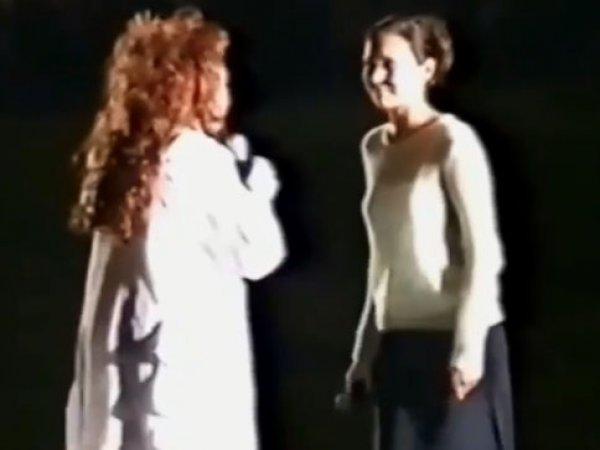 Алсу показала раритетное видео с концерта Пугачевой