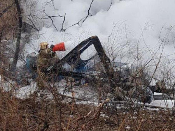 В Хабаровском крае разбился вертолет Ми-8: погибли шесть человек