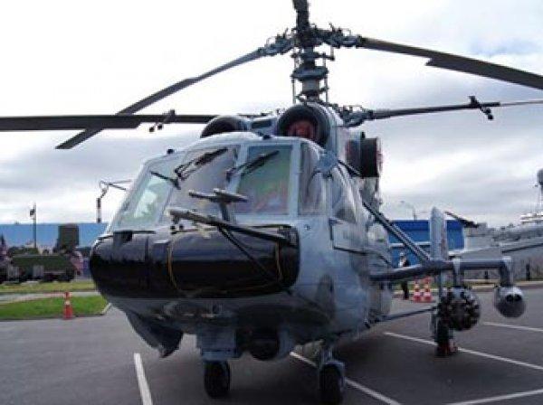 Вертолет Ка-29 рухнул в Балтийское море: погибли летчики