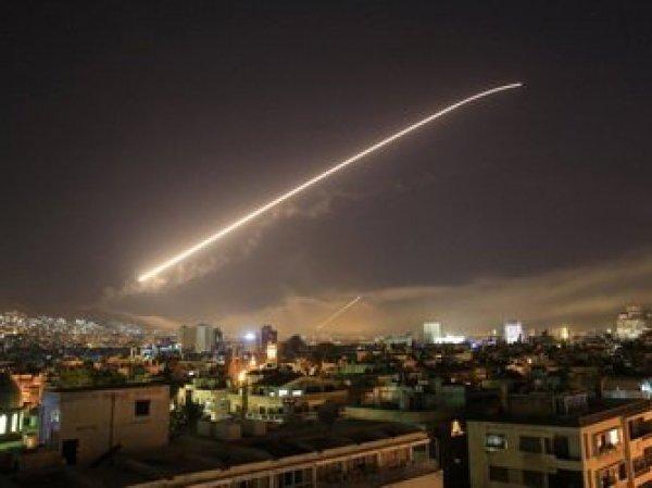 США, Британия и Франция 14 апреля нанесли удар по Сирии (ВИДЕО)