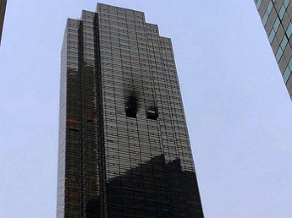 При пожаре в здании Trump Tower в Нью-Йорке погиб человек