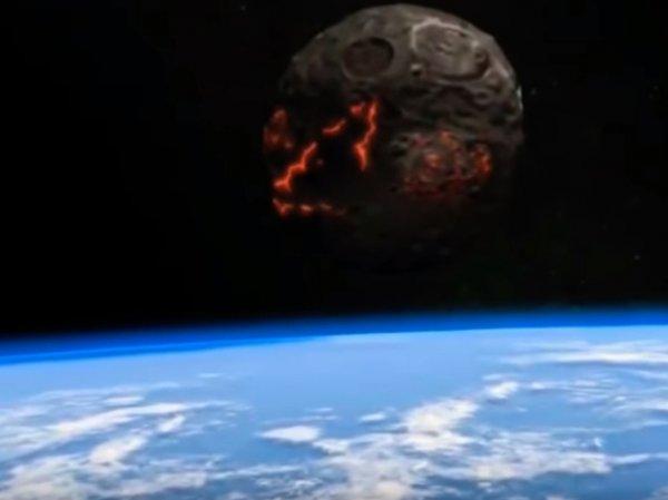 """На YouTube опубликовано видео """"столкновения Земли с Нибиру"""""""
