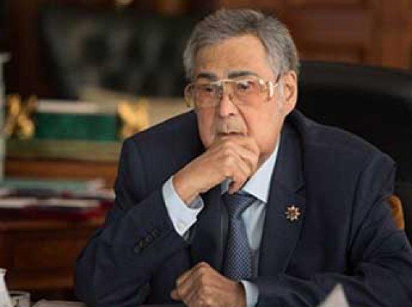 Аман Тулеев подал в отставку 1 апреля 2018, разместив видео в Сети