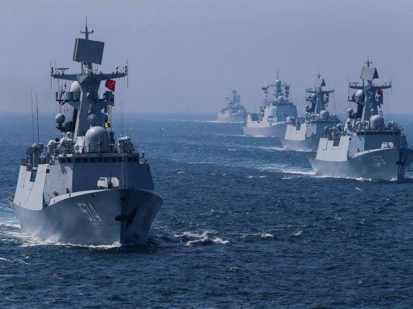 Военные корабли РФ вышли в море изсирийского Тартуса