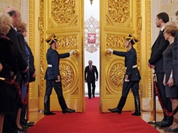 В России начинается инаугурация президента Владимира Путина (ВИДЕО)