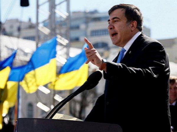 Саакашвили призвал ЕС ввести санкции против властей Украины