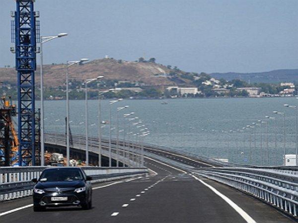Украина и Евросоюз возмутились из-заоткрытия Крымского моста
