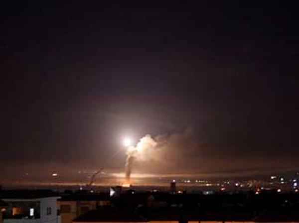 Минобороны раскрыло детали ракетного удара Израиля по Сирии