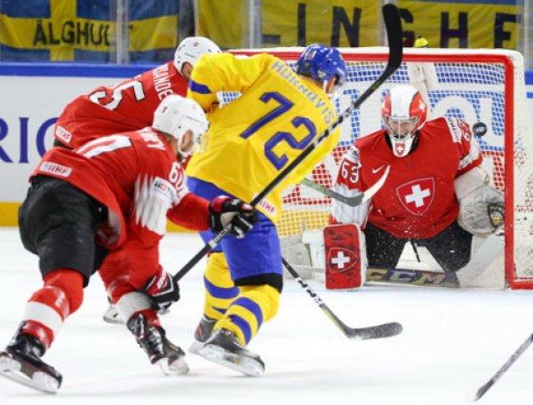 Хоккей Швеция - Швейцария: счет 3:2, обзор матча 20.05.2018, видео голов, результат финала ЧМ (ВИДЕО)