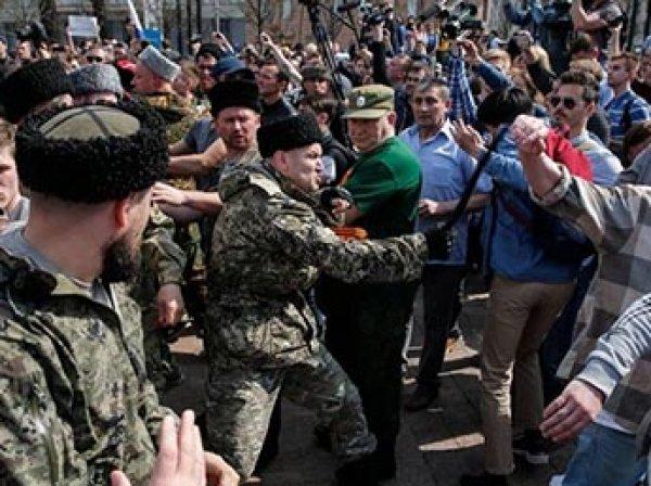 """СМИ: жестко разгонявший акции Навального в Москве """"казаки"""" получали финансирование от мэрии"""