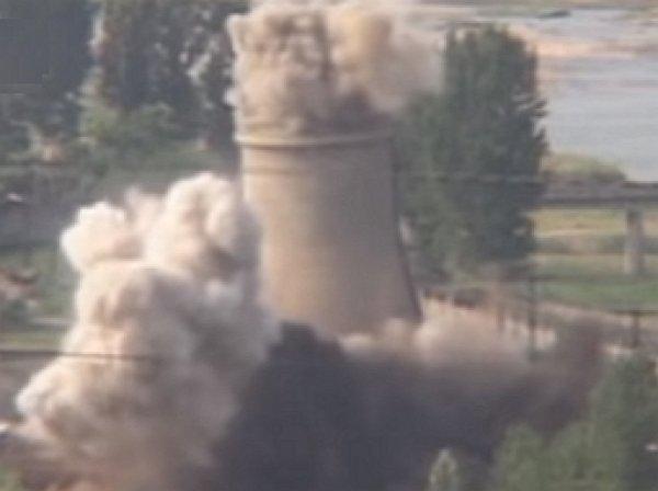 Появилось видео взрыва ядерного полигона Пхунгери в КНДР