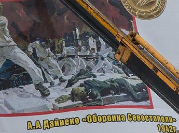 В Кургане ко Дню Победы разместили баннеры с грубейшими ошибками