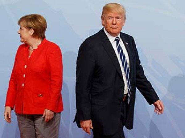 СМИ: Трамп просил совета у Меркель, как себя вести с Путиным