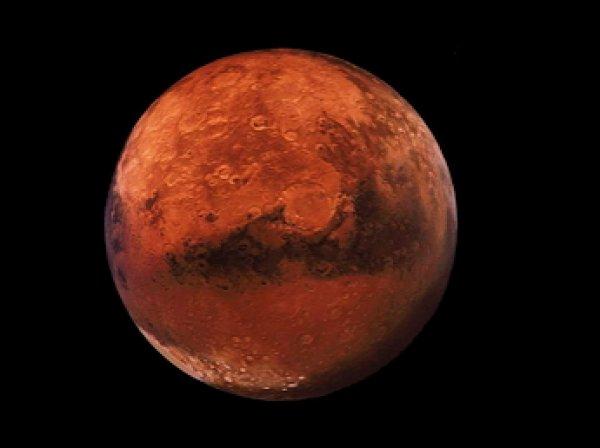 Уфологи нашли на Марсе статую сфинкса