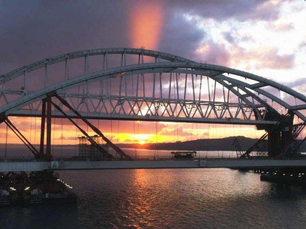 Ганапольский издевательски поблагодарил Россию за строительство Крымского моста