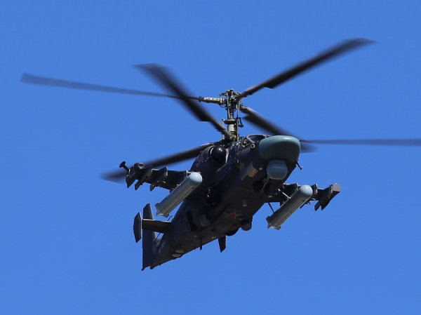 В Сирии разбился российский военный вертолет  Ка-52: погибли оба пилот