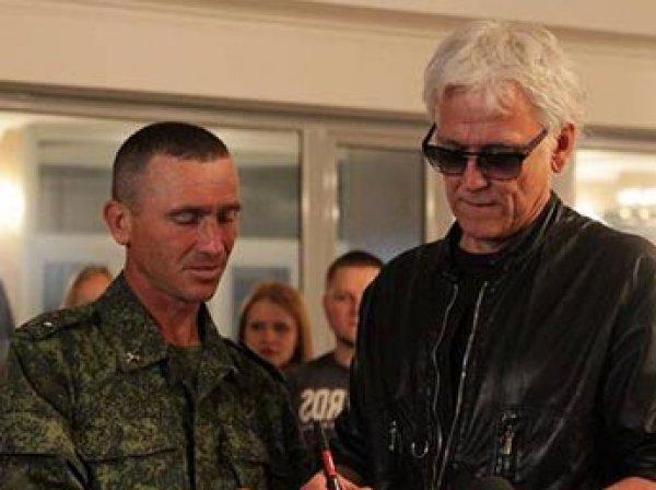"""Певец Александр Маршал заявил, что готов """"взяться за оружие"""" и воевать на Донбассе"""