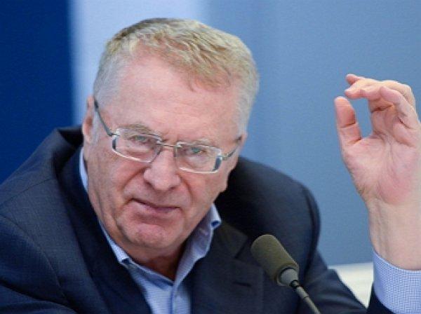 Жириновский пригрозил выгонять из ЛДПР депутатов с собаками