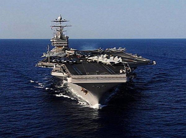 С авианосца США «Гарри Трумэн» нанесли удары по боевикам ИГИЛ в Сирии