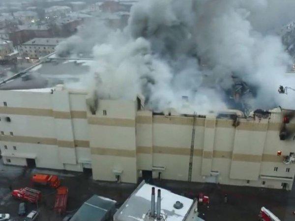 """СКР возложил вину за пожар в """"Зимней вишне"""" на спасателей в Кемерово"""