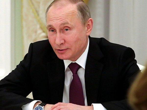 Путин пошутил освоей успеваемости вшколе