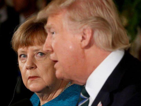 """WSJ: Трамп требует от Меркель отказаться от """"Северного потока-2"""", угрожая санкциями"""