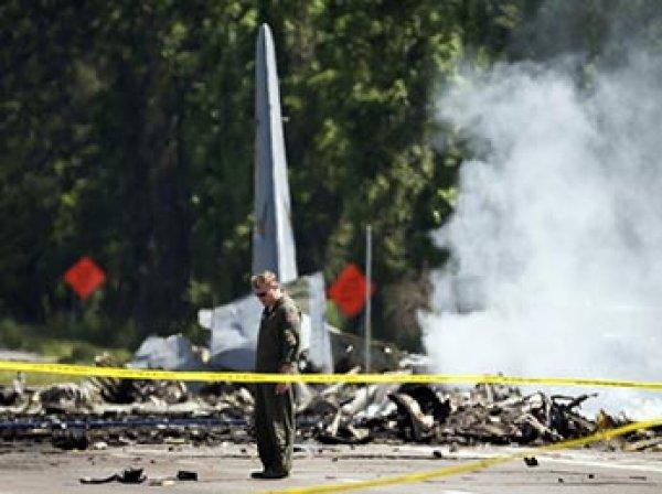 Момент крушения самолета с пассажирами в Аризоне попал на видео