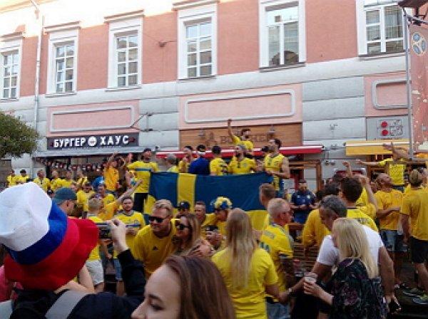 Шведские болельщики не смогли попасть на первый матч сборной на ЧМ-2018