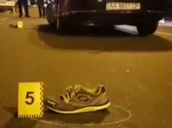 В Сети появилось видео с места наезда кортежа Порошенко на подростка