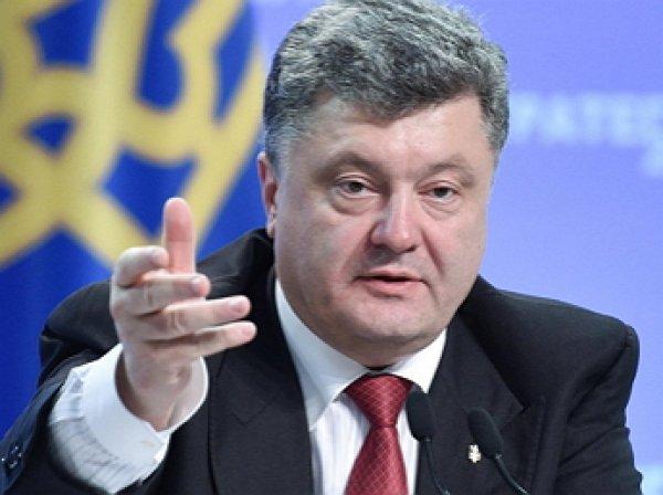 Порошенко заявил о планах построить мост через Дунай