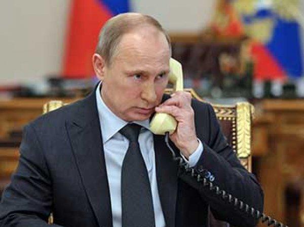 В Кремле раскрыли, о чем говорил Путин по телефону с Порошенко