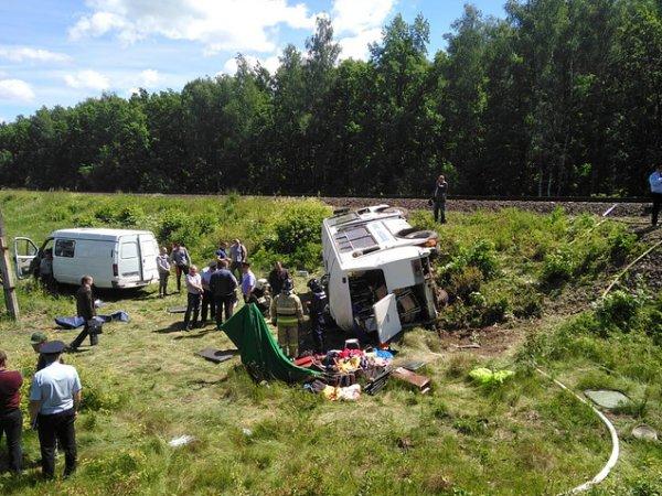 Авария с автобусом в Орловской области сегодня: жертвами стали четыре человека