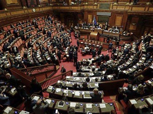 Италия отказалась продлевать санкции против РФ
