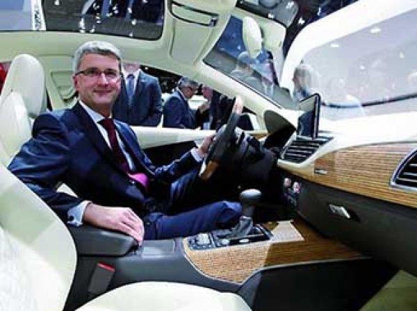 Генеральный директор Audi задержан из-за дизельного скандала